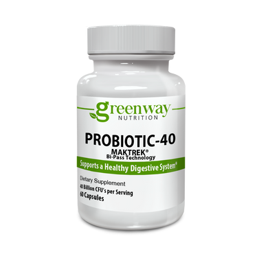 Probiotic MAKTrek 40 Billion  60 Vegan Capsules