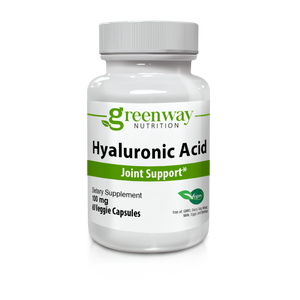 Hyaluronic Acid 100mg 60 Vegan Capsules