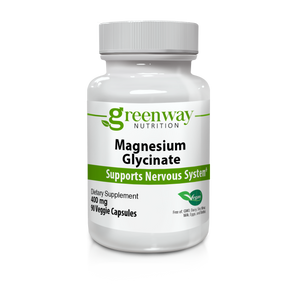 Magnesium Glycinate 400mg 90 Vegan Capsules