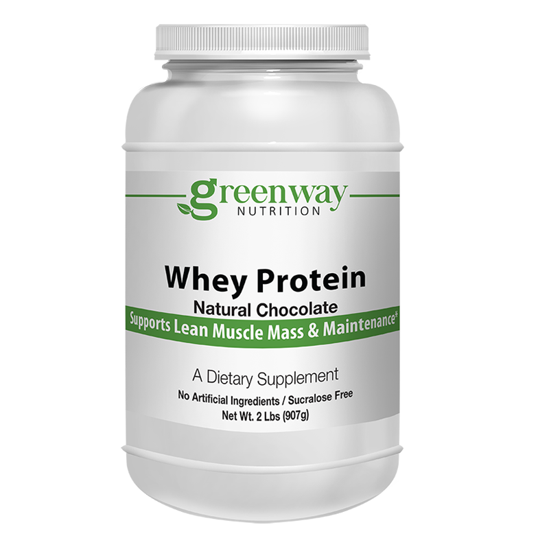 Whey Protein Chocolate 2lbs.