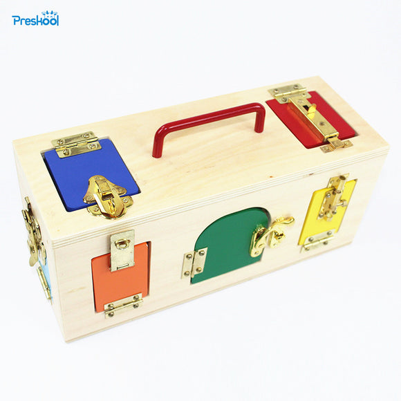 Lock Box-Blocks-Preskool-Montessori toyz