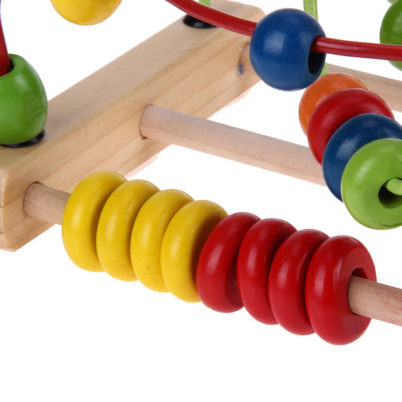 Bead Abacus-Shapes-VKTECH-Montessori toyz