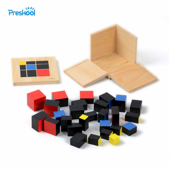 Trinomial Cube-Innovation-Preskool-Montessori toyz