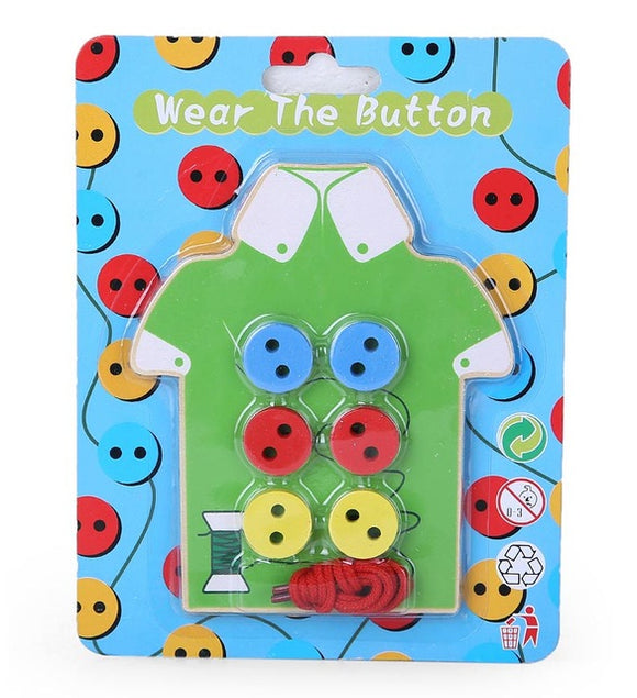 Button my Shirt!-Blocks-Montessori toyz-Green-Montessori toyz