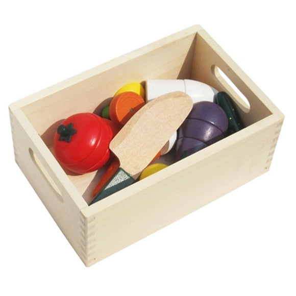 Fruits & Veggi's-pretend play-infant shining-Montessori toyz