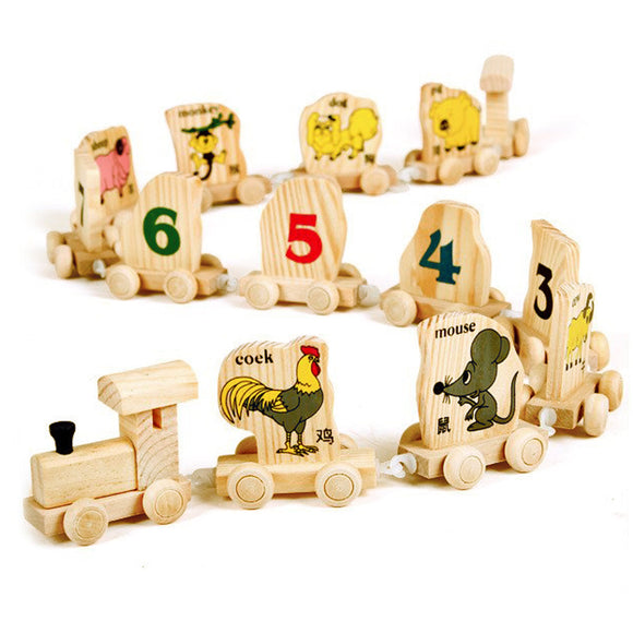 Animal Train-Blocks-VKTECH-Montessori toyz