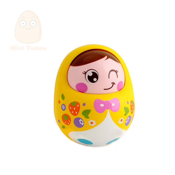 Tumbler Girl-Music-Mini Tudou-Yellow-Montessori toyz