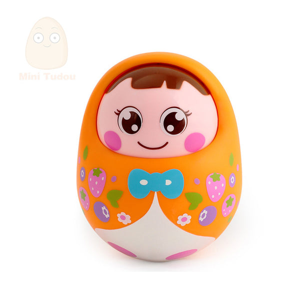 Tumbler Girl-Music-Mini Tudou-Orange-Montessori toyz
