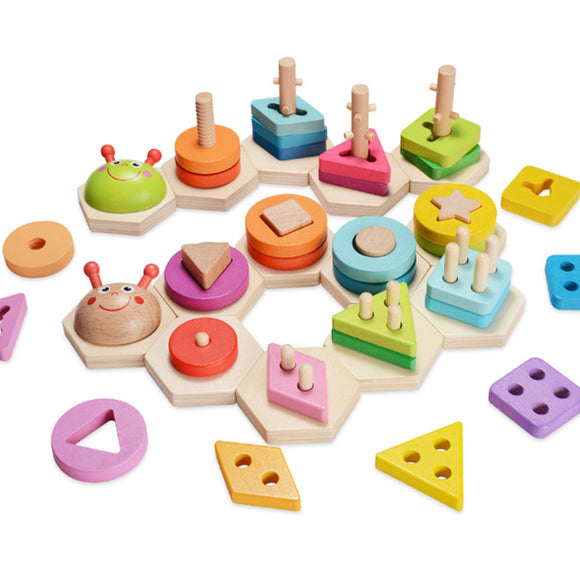 Insect Shape Match-Blocks-Montessori toyz-Montessori toyz