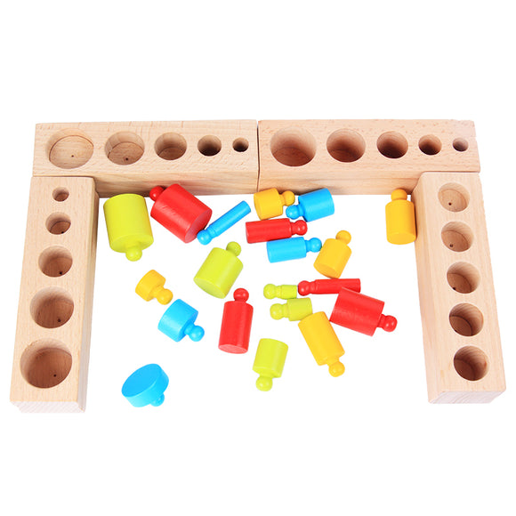 Cylinder Set-Puzzle-Dental House-Montessori toyz