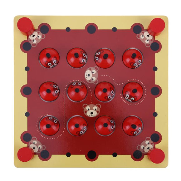 Ladybug Chess-Brain Game-JOCESTYLE-Montessori toyz