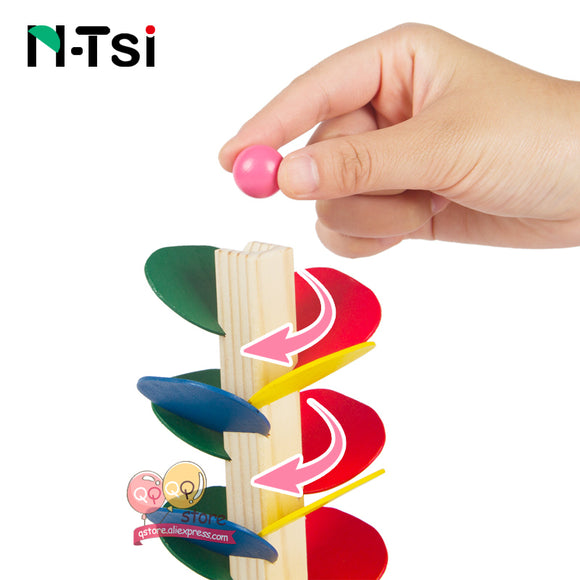 Wooden Tree Stacker-Puzzle-N-Tsi-Montessori toyz