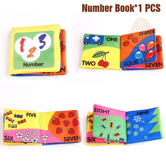 Books4Kids-Shapes-Mini Tudou-Number-Montessori toyz
