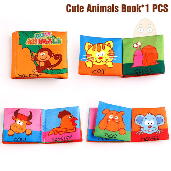 Books4Kids-Shapes-Mini Tudou-Cute Animals-Montessori toyz