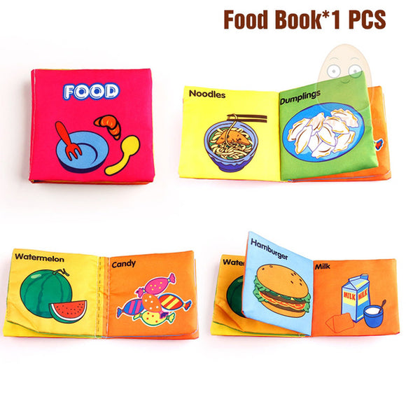 Books4Kids-Shapes-Mini Tudou-Food-Montessori toyz