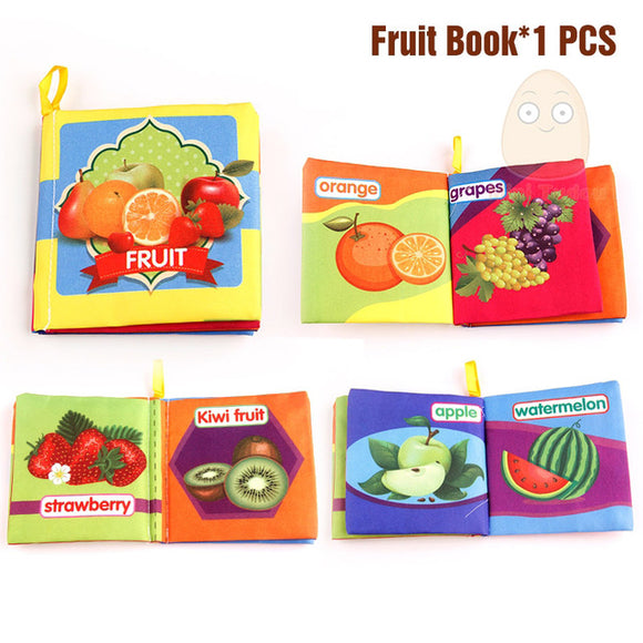 Books4Kids-Shapes-Mini Tudou-Fruit-Montessori toyz
