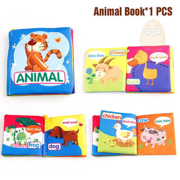 Books4Kids-Shapes-Mini Tudou-Animal-Montessori toyz