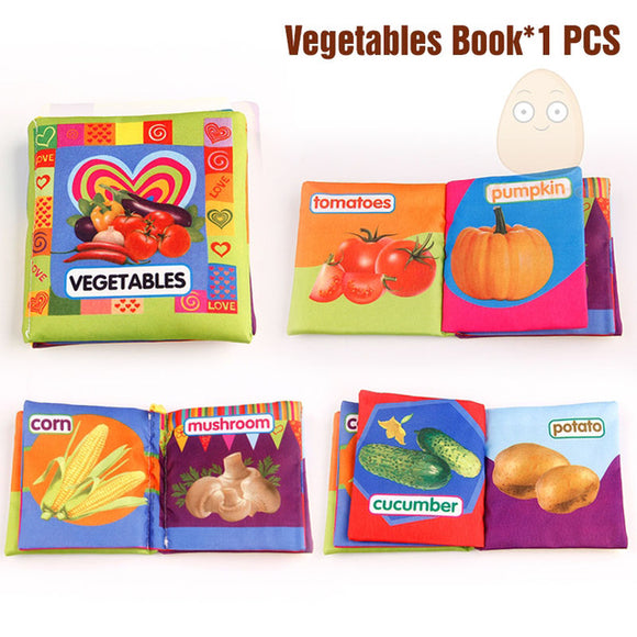 Books4Kids-Shapes-Mini Tudou-Vegetables-Montessori toyz