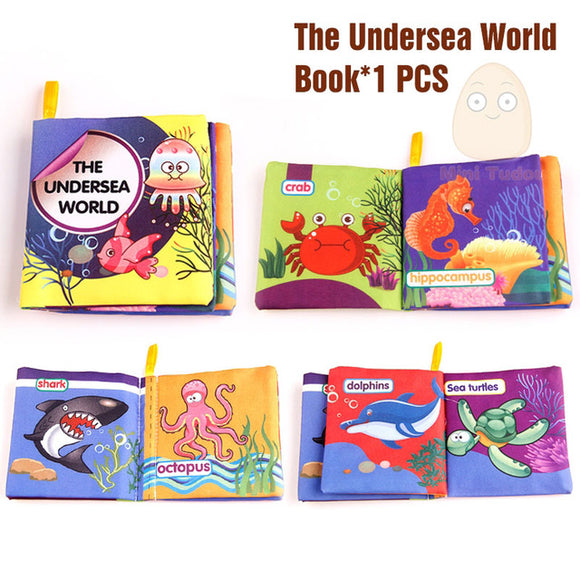 Books4Kids-Shapes-Mini Tudou-Undersea World-Montessori toyz