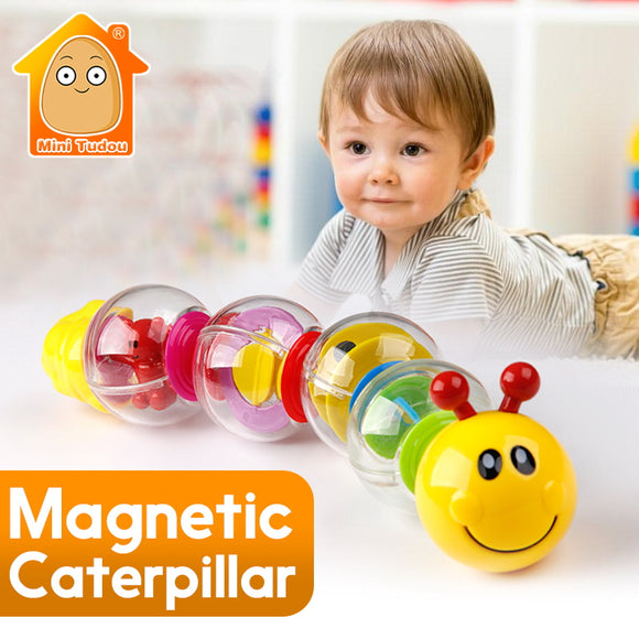 Magnetic Caterpillar-Music-Mini Tudou-Montessori toyz