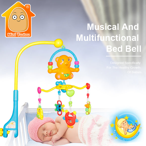 Musical Crib-Music-Mini Tudou-Montessori toyz