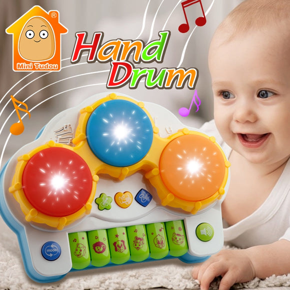 Musical Drum-Music-Mini Tudou-Montessori toyz