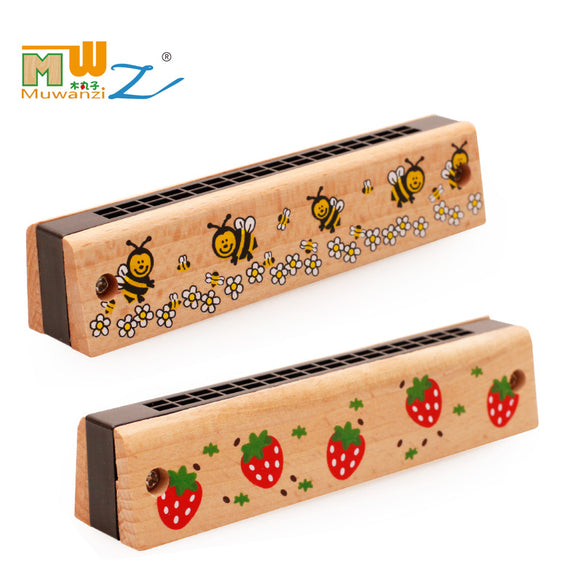 Wooden Harmonica-Music-infant shining-Montessori toyz