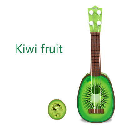 Musical Guitar-Music-infant shining-Kiwi fruit-Montessori toyz