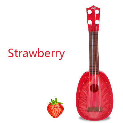 Musical Guitar-Music-infant shining-strawberry-Montessori toyz