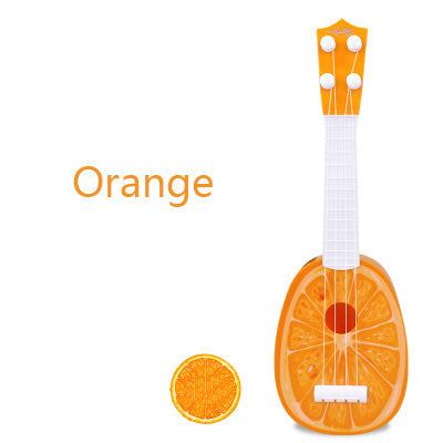 Musical Guitar-Music-infant shining-orange-Montessori toyz