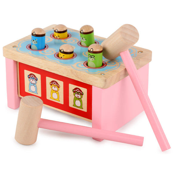 Whack-a-mole-Blocks-Dental House-Montessori toyz