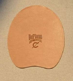 Deplano Leather Wedge Pads