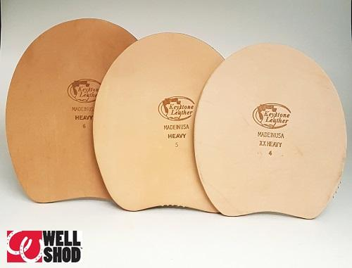 Leather Full Wedge Pads