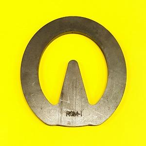 RGM Heart Bar, 1/4'' thick, BLANK.