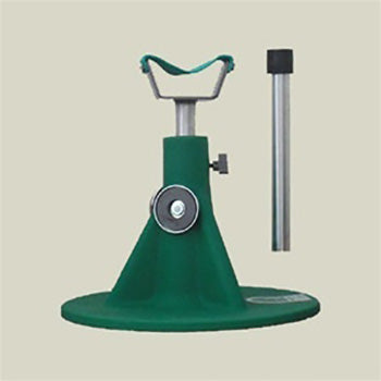 Hoof Jack Green Base with accessories Farrier Stand