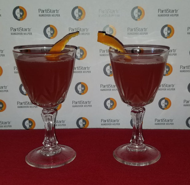 January Drink Recipe - Red Carpet Cosmo