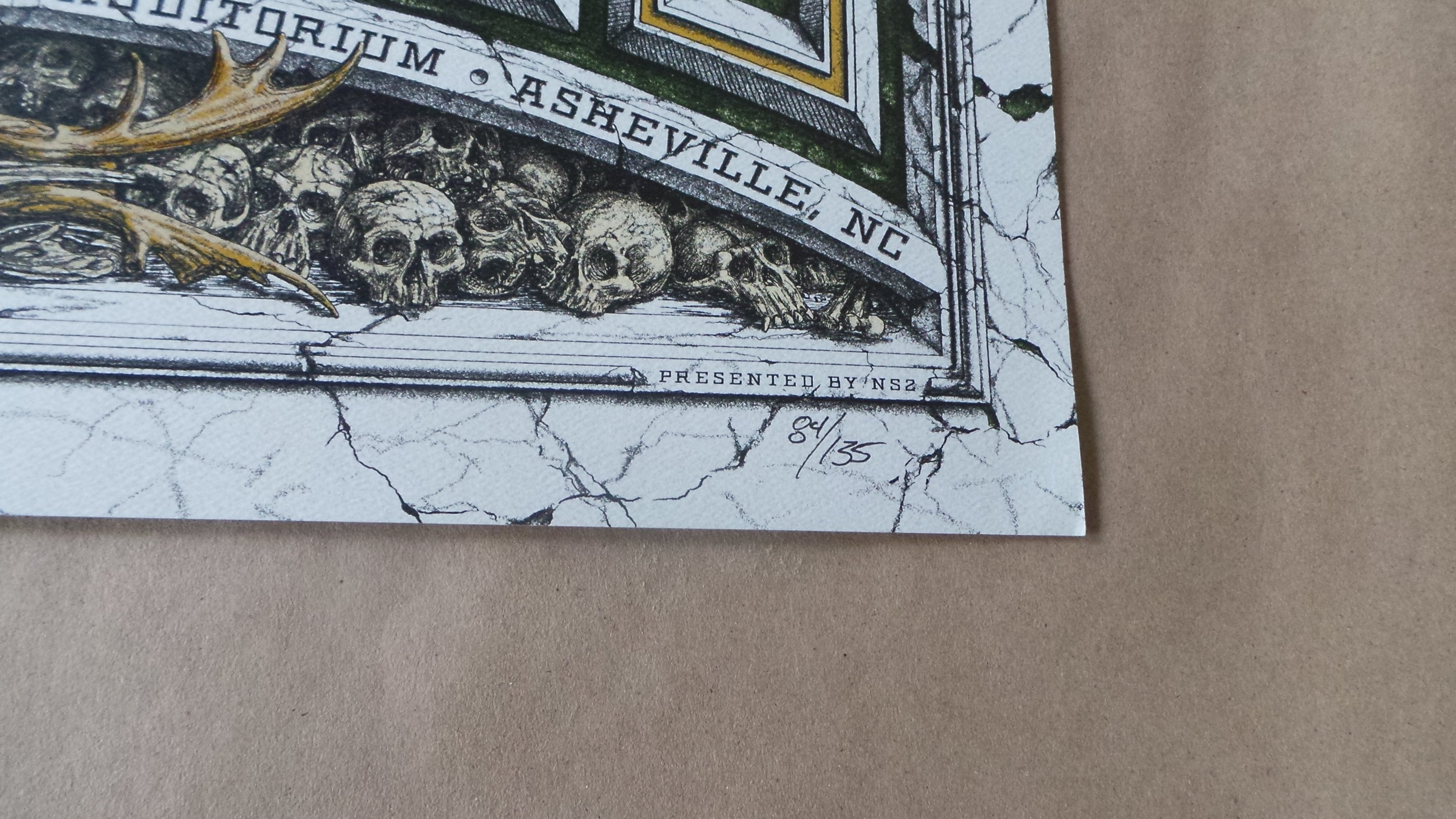 The Pixies Dig My Chili Asheville Concert Poster Print Signed Numbered 2014
