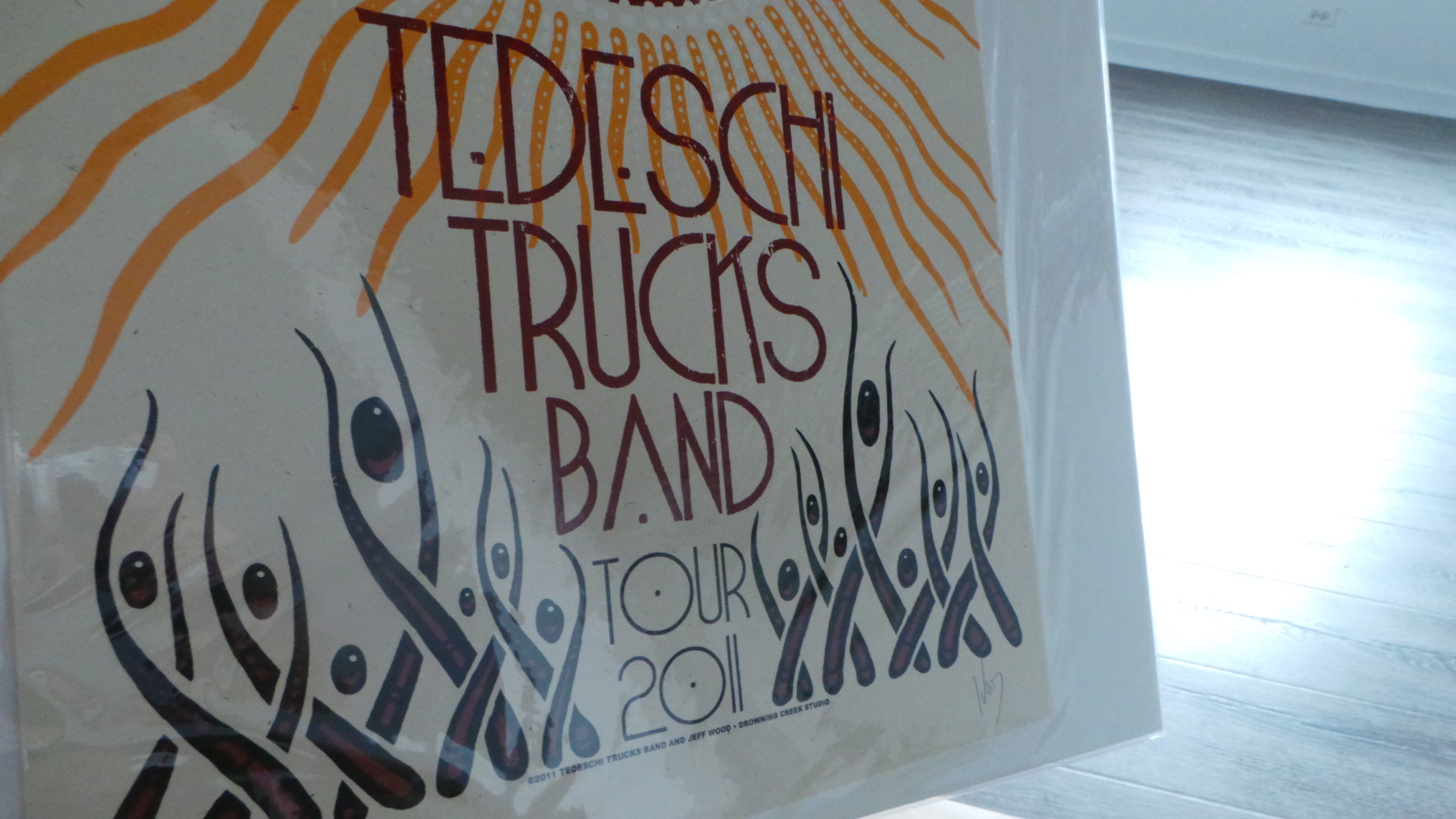 2011 Tedeschi Trucks Band Revelator Tour Poster by Jeff Wood, S/N'd