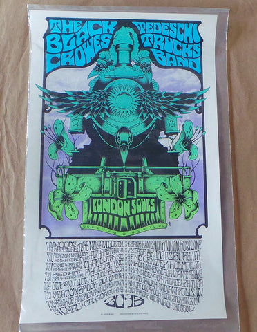 "AJ Masthay ""TPC3 Phish 1.0, 2012-2015"" Screenprinted Poster S/N'd"