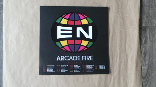 "Arcade Fire ""Everything Now"" Poster, Unsigned, not numbered"