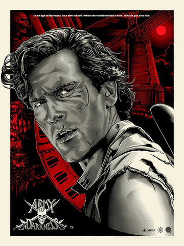 Star Wars Trilogy Gabz Screenprint Poster Timed Edition xx/3900 Numbered