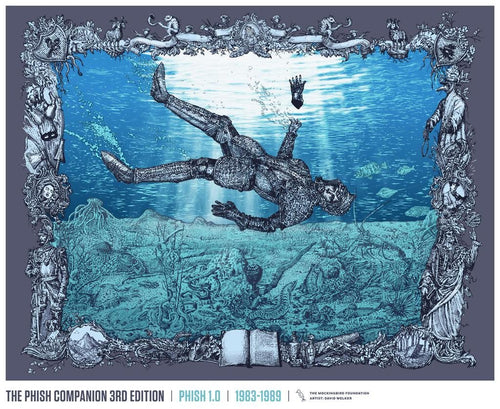 "David Welker ""TPC3 - Phish 1.0, 1983-1989"" Screenprinted Poster S/N'd"