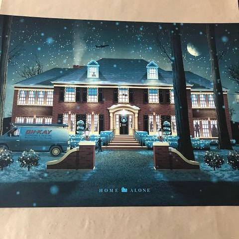 HOME ALONE - 2014 DKNG POSTER PRINT MACAULAY CULKIN KEVIN MCCALLISTER MOVIE