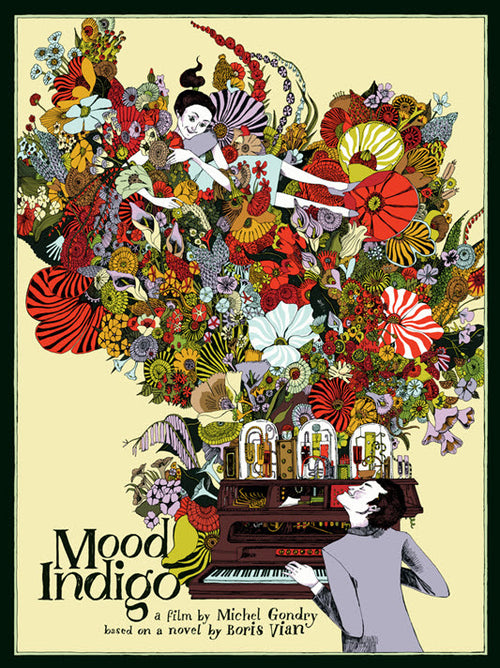 Mood Indigo Movie Screenprinted Poster 2014 – Landland S/N'd, xx/145