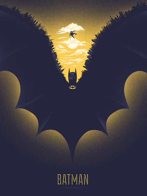 Gary Pullin Batman 18x24 Screenprint Poster xx/225