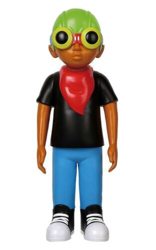 Hebru Brantley 2018 FlyBoy Chicago Nevermore Pop Up Shop 18 in Vinyl Figure