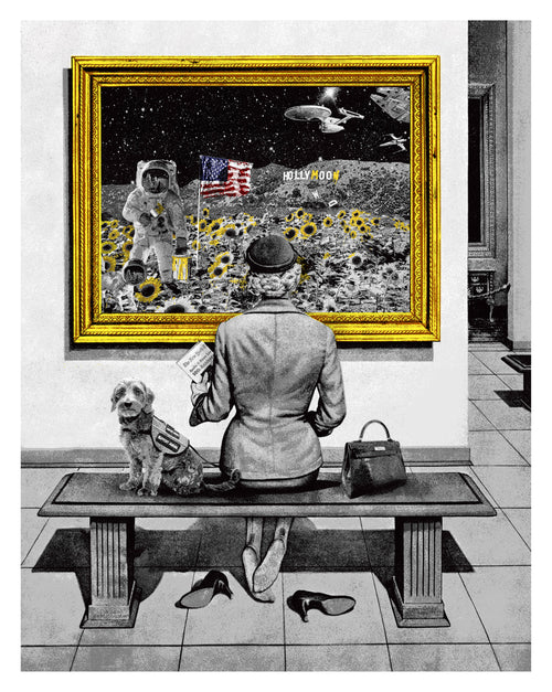 Mr. Brainwash Hollymoon Screenprint Poster S/N xx/50 Ready to Ship!