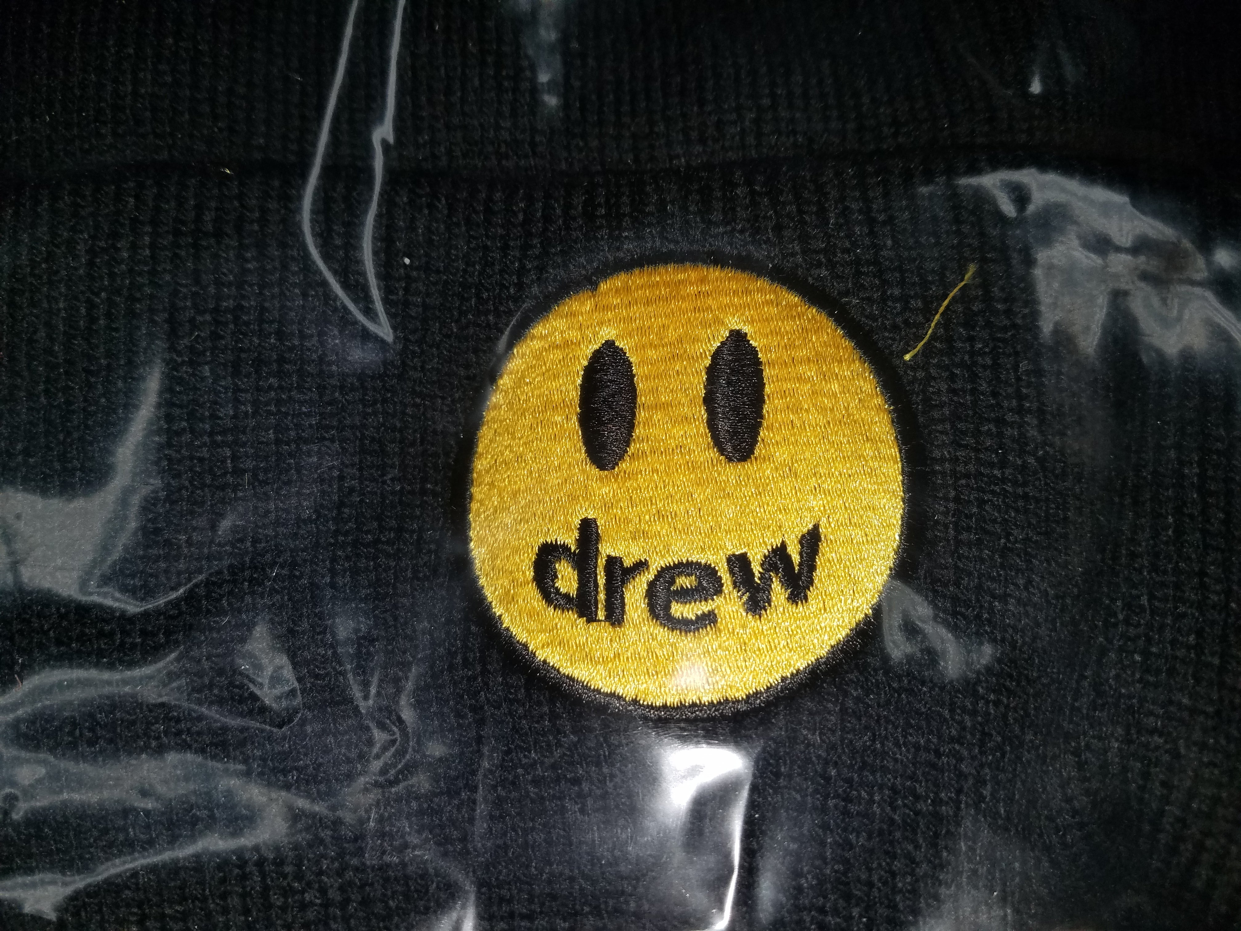 House of Drew Collection Mascot Beanie Hat Black and Yellow