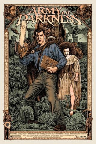 Army of Darkness Regular Edition Screenprint Poster Chris Weston xx/160 N'd