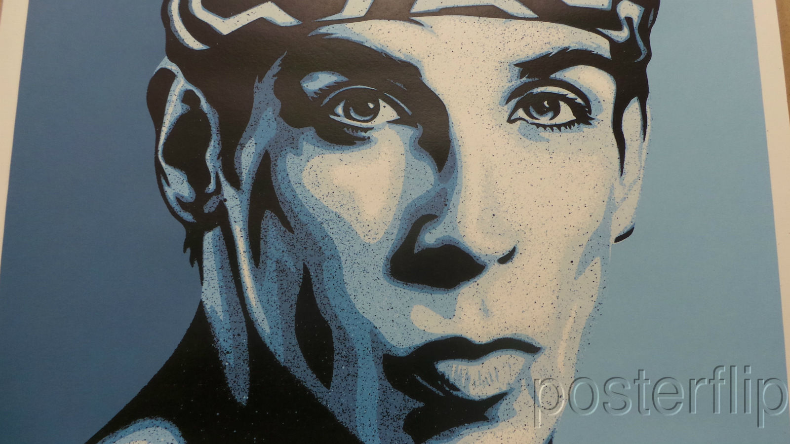 Zoolander Blue Steel Screenprint Poster Shepard Fairey xx/450 Signed/Numbered